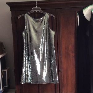 Sleeveless sequined dress size 12. Elie Tahari